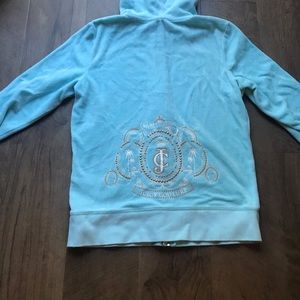👑 CLASSIC JUICY COUTURE VELOUR ZIPUP  👑